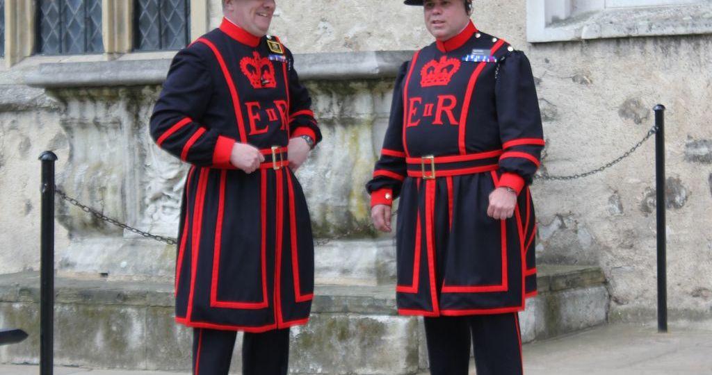 Garde anglais
